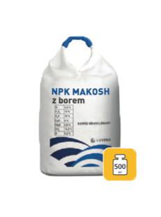 NPK Макош з бором 3,5-10-18 + 4Ca, 2,5Mg, 15,5S + B