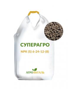 Удобрение Суперагро NPK (S) 6-24-12-(8)