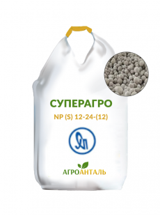 Азотно-фосфорное удобрение Суперагро NP (S) 12-24-(12) (Украина)